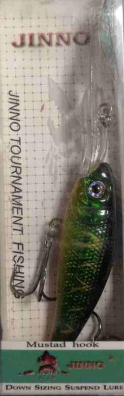 100 63-111 Воблер Jinno 10,5см, 8,0г (плавающий)