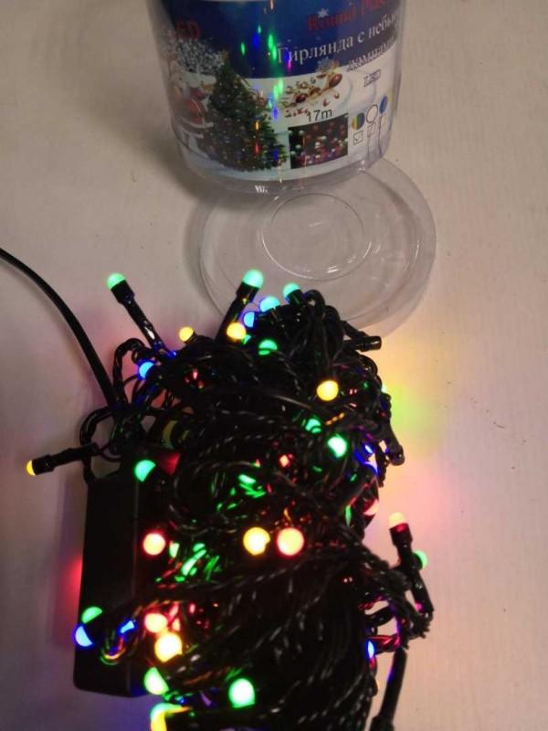 Гирлянда ( черн ) 17 м 240 LED