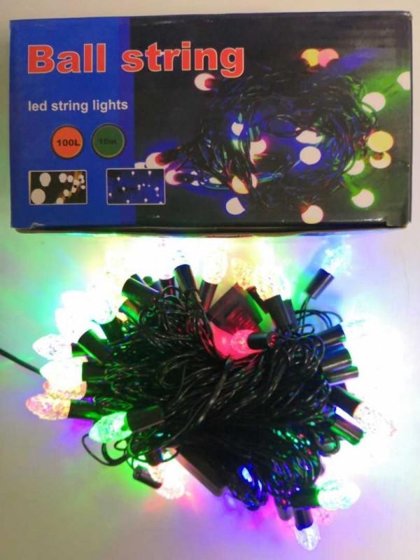 Гирлянда  10 м 100 LED  ( шишечка )
